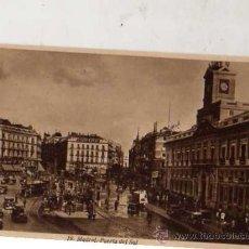 Postales: MADRID Nº 19 PUERTA DEL SOL HUECOGRABADO DE KALLMEYER Y GAUTIER MADRID SIN CIRCULAR . Lote 30565974