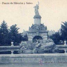Postales: ARANJUEZ FUENTE DEL JARDÍN DE LA ISLA ORAPOS MADRID SIN CIRCULAR . Lote 30572873