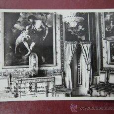 Postales: EL ESCORIAL, CASITA DEL PRINCIPE, VESTIBULO - POSTAL FOTOGRAFICA. Lote 30583557