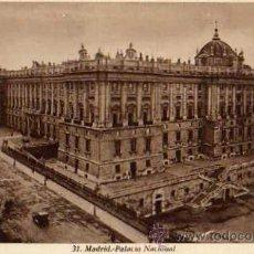 Postales: MADRID Nº 31 PALACIO NACIONAL SIN CIRCULAR . Lote 30639655