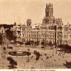Postales: MADRID Nº 12 LA CIBELES Y CASA DE CORREOS SIN CIRCULAR KALLMEYER Y GAUTIER . Lote 30639689