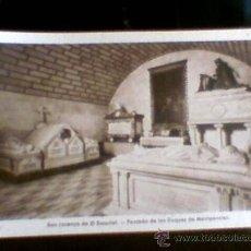 Postales: POSTAL SAN LORENZO ESCORIAL PANTEON DUQUES MONTPENSIER SIN CIRCULAR(B24). Lote 30643162