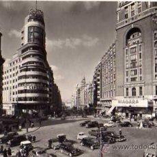 Postales: MADRID PLAZA DEL CALLAO AVENIDA JOSÉ ANTONIO A. CAMPAÑÁ SIN CIRCULAR POSTAL FOTOGRÁFICA . Lote 30644847