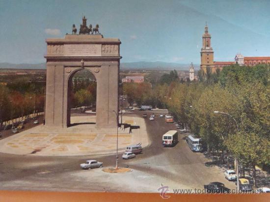 Postal De Madrid Ano 1966 Arco Del Triunfo 3 Comprar Postales