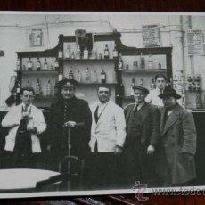 Postales: ANTIGUA FOTOGRAFIA DE MADRID, BAR LA CORONA, AÑO 1946, TAMAÑO POSTAL, NO CIRCULADA.. Lote 30716347