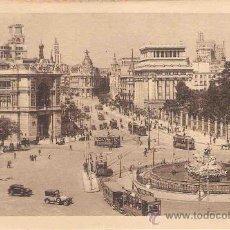 Postales: TARJETA POSTAL DE MADRID. 2. BANCO DE ESPAÑA, CALLE DE ALCALA Y LA CIBELES.KALLMEYER Y GAUTIER.. Lote 30748710