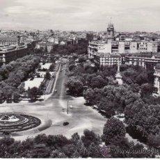 Postales: MADRID. NEPTUNO Y PASEO DEL PRADO. Lote 30787509