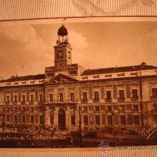 Postales: ANTIGUA POSTAL DE MADRID MINISTERIO DE GOBERNACION, Nº 40. Lote 30954149