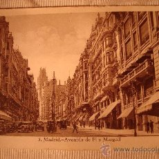 Postales: ANTIGUA POSTAL DE MADRID AVENIDA DE PI Y MARGALL, Nº 5 EDI. EXTRA MADRID.. Lote 30954291