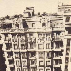 Postales: POSTAL DE MADRID DEL HOTEL RIALTO - GRAN VIA PI Y MARGALL - HAUSER Y MENET. Lote 31010857