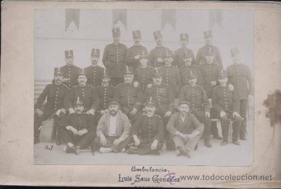 FOTOGRAFÍA DE EQUIPO DE GUARDIAS MUNICIPALES DE MADRID (Postales - España - Comunidad de Madrid Antigua (hasta 1939))
