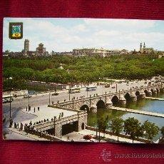 Postales: MADRID,PUENTE DE SEGOVIA Y RIO MANZANARES.DOMINGUEZ Nº 137. Lote 31234913