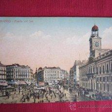 Postales: MADRID - PUERTA DEL SOL. Lote 31323366