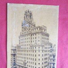 Postales: MADRID - PALACIO DE LA TELEFÓNICA. Lote 31323493