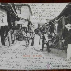 Postales: ANTIGUA POSTAL DE MADRID, EL RASTRO, ED. P.Z. 10731, CIRCULADA, REVERSO SIN DIVIDIR.. Lote 31635545
