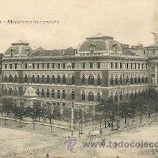 Postales: MADRID- MINISTERIO DE FOMENTO. Lote 31636750