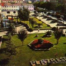 Postales: GETAFE MADRID 4433 PLAZA DE ESPAÑA COLECCIÓN PERLA ESCRITA CIRCULADA SELLO 1970. Lote 31700451