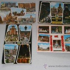 Postales: POSTALES MADRID AÑOS 60-70 CIRCULADAS CON SELLO. Lote 31826078