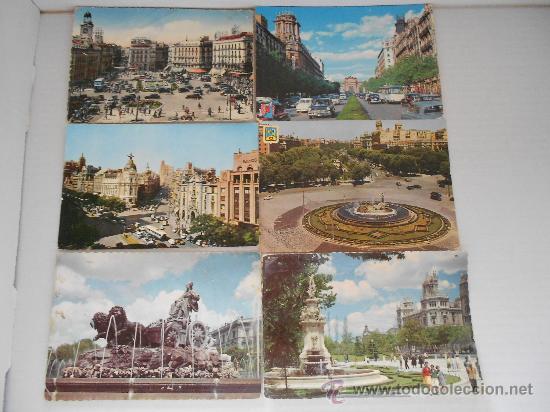 POSTALES MADRID CIRCULADAS AÑOS 50 --60 (Postales - España - Madrid Moderna (desde 1940))