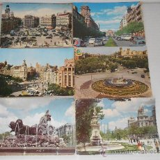 Postales: POSTALES MADRID CIRCULADAS AÑOS 50 --60. Lote 31826256