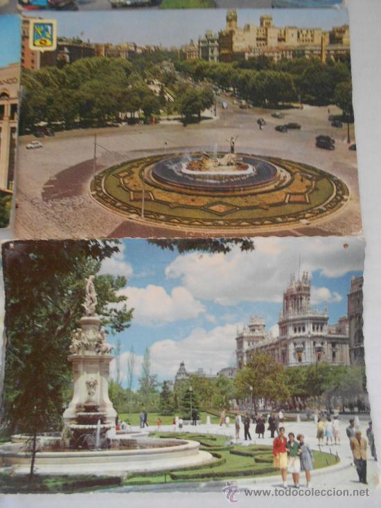 Postales: postales madrid circuladas años 50 --60 - Foto 2 - 31826256