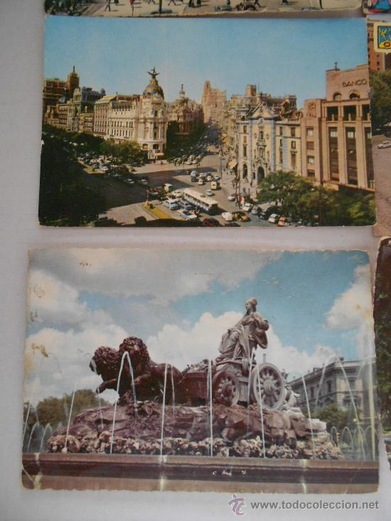 Postales: postales madrid circuladas años 50 --60 - Foto 3 - 31826256