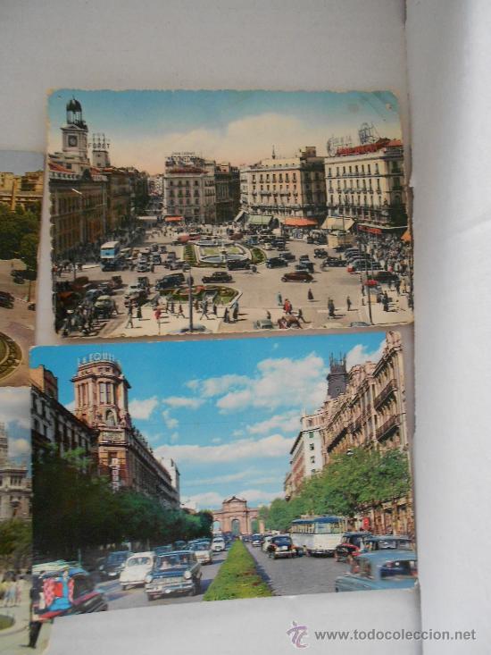 Postales: postales madrid circuladas años 50 --60 - Foto 4 - 31826256
