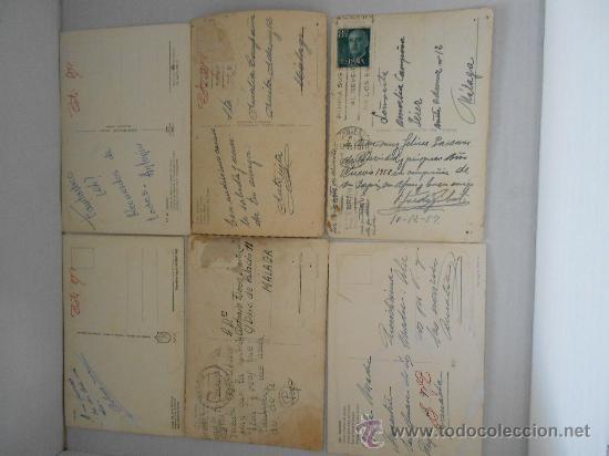 Postales: postales madrid circuladas años 50 --60 - Foto 5 - 31826256