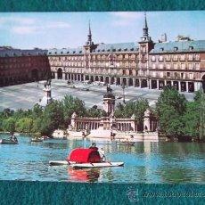 Postales - MADRID-M5- ESCRITA-PARQUE DEL RETIRO-PLAZA MAYOR-124 - 31880281