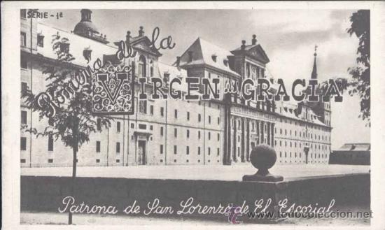 SAN LORENZO DE EL ESCORIAL (MADRID).- ALBUM DE LA ROMERIA DE LA VIRGEN DE GRACIA.- COMPLETO-SERIE 1ª (Postales - España - Comunidad de Madrid Antigua (hasta 1939))