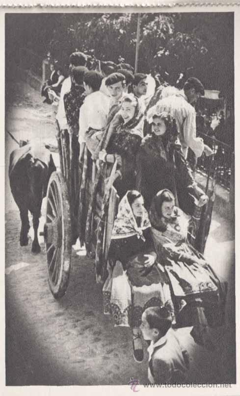 Postales: SAN LORENZO DE EL ESCORIAL (MADRID).- ALBUM DE LA ROMERIA DE LA VIRGEN DE GRACIA.- COMPLETO-SERIE 1ª - Foto 4 - 31872639