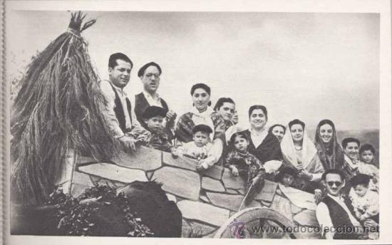 Postales: SAN LORENZO DE EL ESCORIAL (MADRID).- ALBUM DE LA ROMERIA DE LA VIRGEN DE GRACIA.- COMPLETO-SERIE 1ª - Foto 5 - 31872639