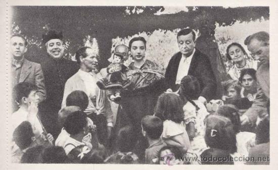 Postales: SAN LORENZO DE EL ESCORIAL (MADRID).- ALBUM DE LA ROMERIA DE LA VIRGEN DE GRACIA.- COMPLETO-SERIE 1ª - Foto 9 - 31872639