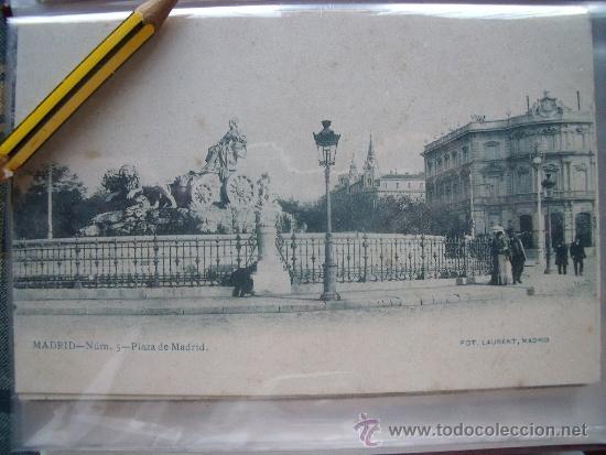 Postales: LAURENT.-POSTALES.-MADRID.-LOTE DE LAS 29 PRIMERAS 29 POSTALES DE LAURENT EN MADRID. - Foto 5 - 31930755