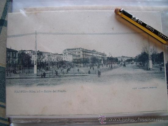 Postales: LAURENT.-POSTALES.-MADRID.-LOTE DE LAS 29 PRIMERAS 29 POSTALES DE LAURENT EN MADRID. - Foto 16 - 31930755
