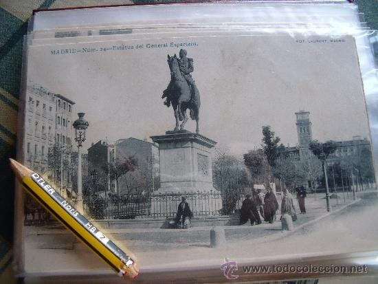 Postales: LAURENT.-POSTALES.-MADRID.-LOTE DE LAS 29 PRIMERAS 29 POSTALES DE LAURENT EN MADRID. - Foto 24 - 31930755