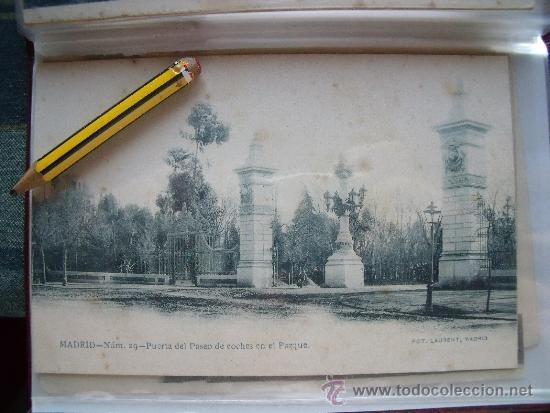 Postales: LAURENT.-POSTALES.-MADRID.-LOTE DE LAS 29 PRIMERAS 29 POSTALES DE LAURENT EN MADRID. - Foto 29 - 31930755
