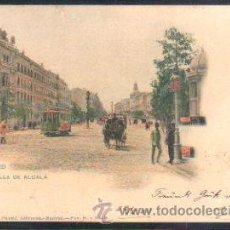 Postales: TARJETA POSTAL DE MADRID - CALLE DE ALCALA. 275. HAUSER Y MENET. SELLO DE EL PELON. Lote 31952244