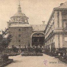 Postales: ARANJUEZ, PALACIO REAL, FACHADA AL JARDIN DE LA ISLA - FOTOTIPIA HAUSER Y MENET - SIN CIRCULAR. Lote 31986547