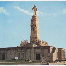Cartes Postales: POSTAL CERRO DE LOS ANGELES - MONUMENTO AL CORAZÓN DE JESÚS - 1966. Lote 32079220