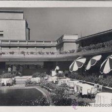 Postales: MADRID.- HOTEL SAVOY- DETALLE DE LA TERRAZA. Lote 32080045