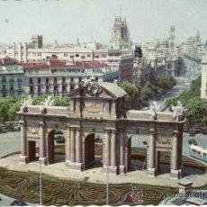Postales: POSTALES. MADRID. PANORAMICA DE LA PUERTA DE ALCALÁ. RASTRILLO PORTOBELLO. Lote 32133828
