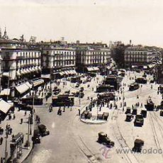Postales: MADRID Nº 1 PUERTA DEL SOL FOT. L. ROISÍN SIN CIRCULAR POSTAL FOTOGRÁFICA . Lote 32218957