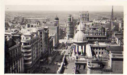 MADRID Nº 104 MADRID AVENIDA PÍ Y MARGALL Y CAPITOL SIN CIRCULAR (Postales - España - Madrid Moderna (desde 1940))