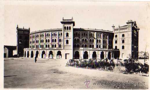 MADRID Nº 26 LA NUEVA PLAZA DE TOROS L. ROISÍN FOTÓGRAFOESCRITA SIN CIRCULAR (Postales - España - Madrid Moderna (desde 1940))