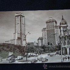 Postales: POSTAL 170. PLAZA DE ESPAÑA, TORRE DE MADRID Y EDIFICIO ESPAÑA. POSTAL MADRID. MADRID.. Lote 32255505