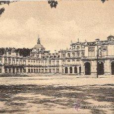 Postales: ARANJUEZ, PALACIO REAL, PLAZA DE ARMAS - FOTOTIPIA DE HAUSER Y MENET - SIN CIRCULAR. Lote 32268915