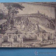 Postales: POSTAL DE SAN LORENZO ESCORIAL, MADRID. PRIMEROS DE SIGLO XX. PALACIO EL COMEDOR. 680. . Lote 32286716
