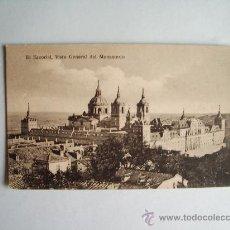 Postales: 1910C.- MONASTERIO DEL ESCORIAL. MADRID. POSTAL. Lote 32368888