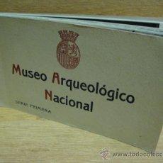 Postales: MUSEO ARQUEOLOGICO NACIONAL SERIE 1º BLOC CON 20 POSTALES FOTOTIPIA HAUSER Y MENET. Lote 32372911